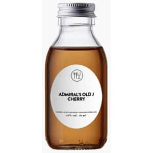 ADMIRAL'S OLD J CHERRY SPICED ROM 35% -5 CL / 10 CL